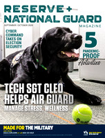 September-October 2020 Reserve and National Guard Magazine Cover